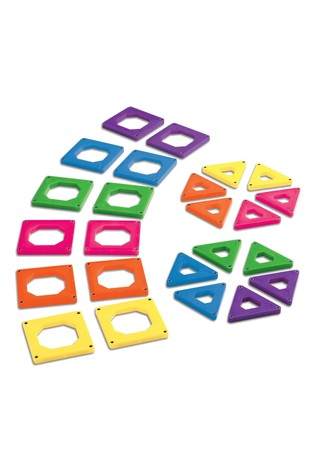 Discovery Mindblown Toy Magnetic Tiles 24pcs