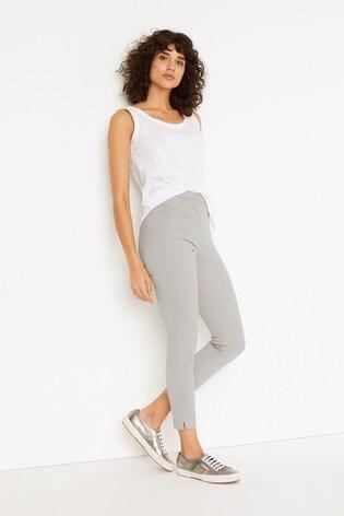 White Stuff Grey/Jade Jeggings