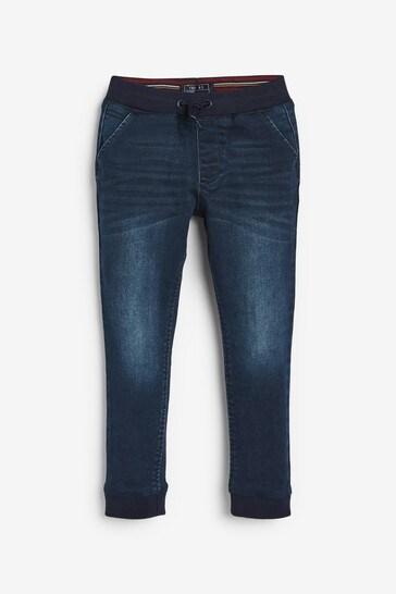 Blue Slim Fit Super Soft Jogger Jeans (3-16yrs)