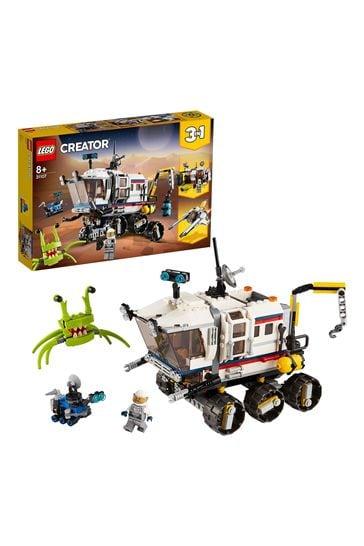 LEGO 31107 Creator 3-In-1 Space Rover Explorer Building Set