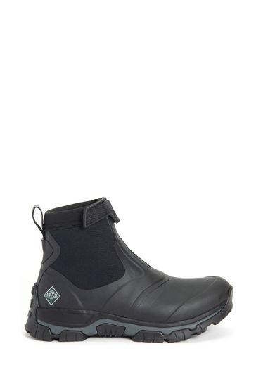 Muck Boots Black Men's Apex Mid Zip Boots