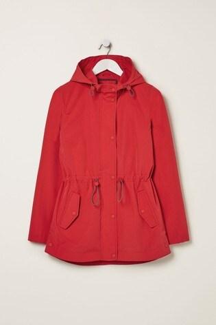 FatFace Red Primrose Jacket