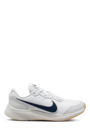 Nike White/Blue Varsity Youth Trainers