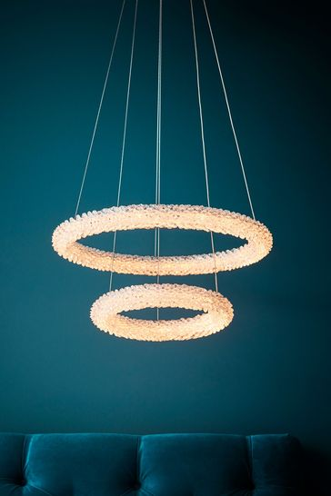 Nicole 2 Ring LED Pendant Light by Gallery Direct