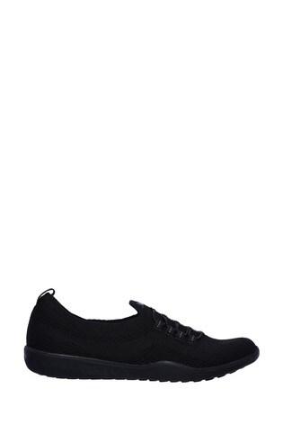 Skechers® Black Newbury ST Every Angle Trainers