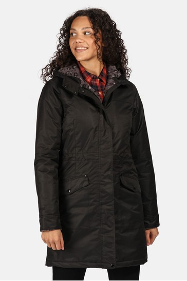 Regatta Black Rimona Waterproof Jacket