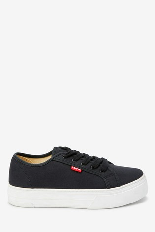 Levi's® Canvas Platform Trainers