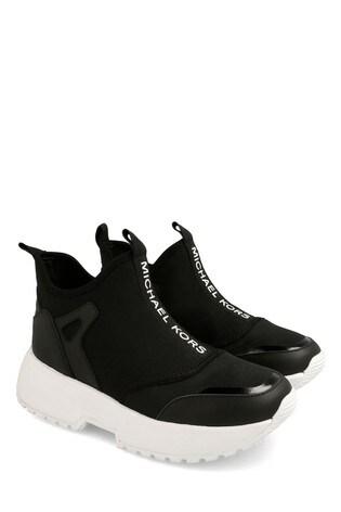 Buy Michael Kors Black Sock Trainers
