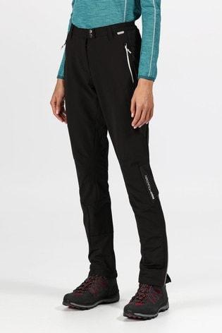 Regatta Black Womens Mountain Trousers