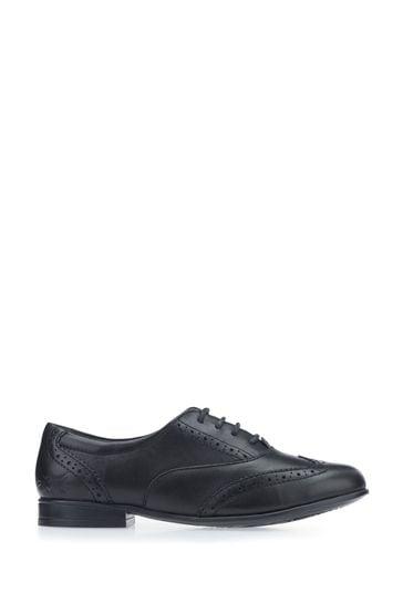 Start-Rite Black Leather Matilda Shoes