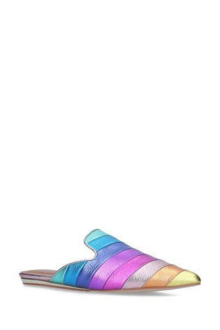 Kurt Geiger London Pink Kita Rainbow Shoes
