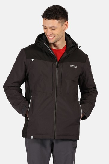 Regatta Grey Highton Stretch Waterproof Jacket