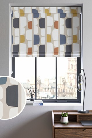 Scion Living Exclusively at Next Natural Kivi Made to Measure Roman Blind