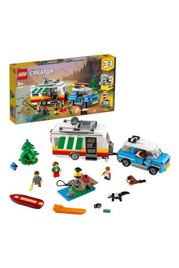 LEGO 31108 Creator 3-In-1 Caravan Family Holiday Car Toy