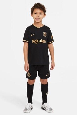 Nike FC Barcelona 2021 Little Kids Away Set
