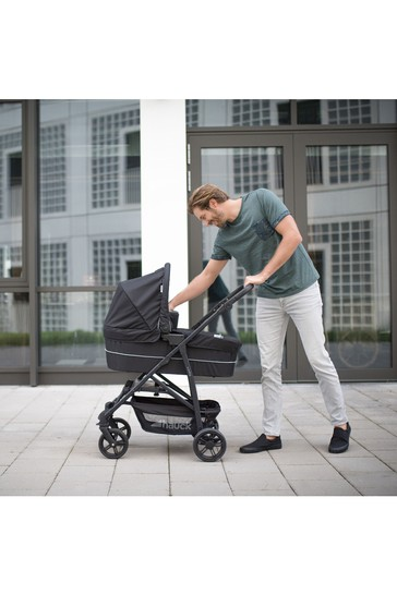 Hauck Rapid 4 Plus Trioset Travel System Caviar/Black