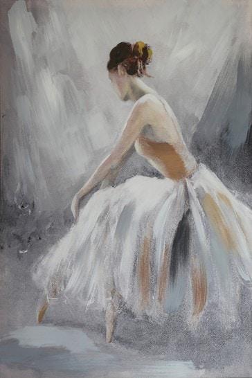 Ballerina Neutral Canvas by Arthouse