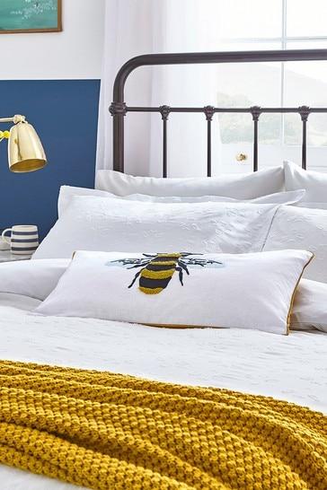 Joules Botanical Bee Cushion
