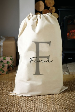 Personalised Presents Christmas Sack by Loveabode