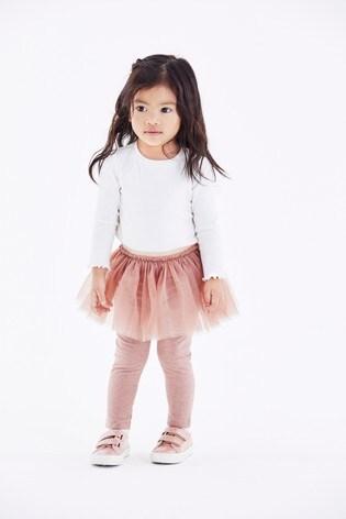 Pink Tutu Leggings (3mths-7yrs)