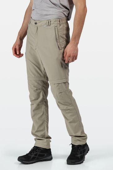 Regatta Cream Leesville II Zip Off Trousers