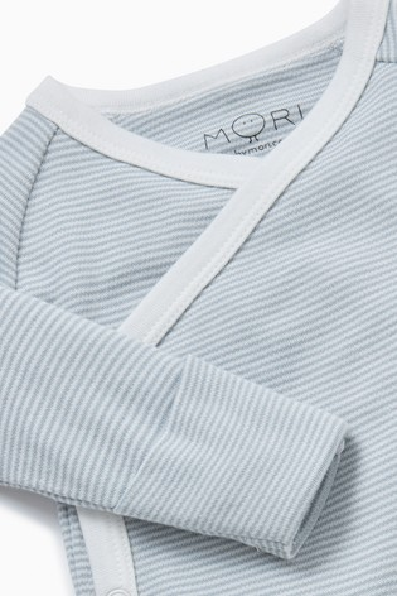 MORI Blue Kimono Bodysuit