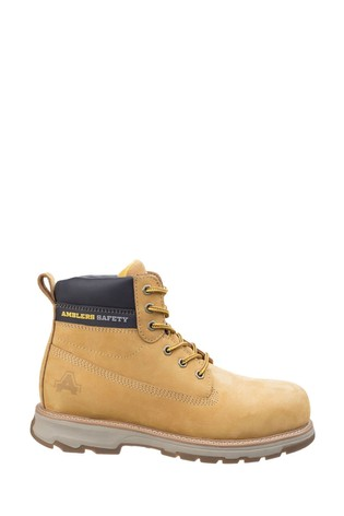 Amblers Safety Honey AS170 Lightweight Full Grain Leather Safety Boots