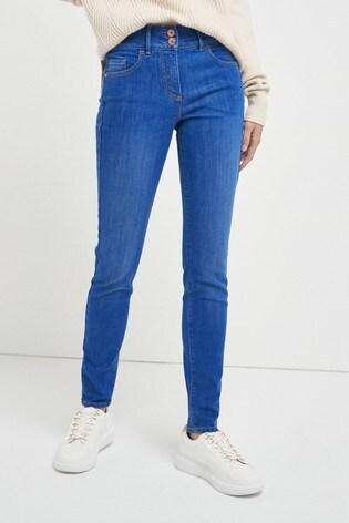 Bright Blue Enhancer Skinny Jeans