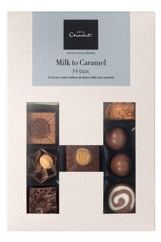 Milk Caramel H Box by Hotel Chocolat