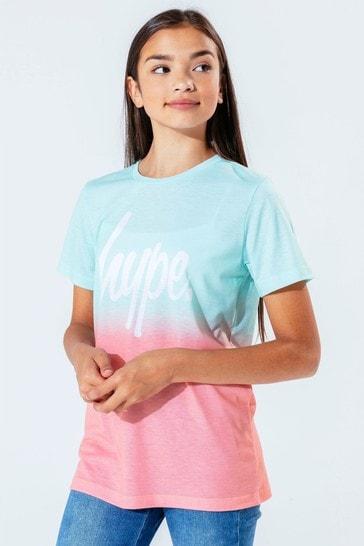 Hype. Mint Peach Fade T-Shirt
