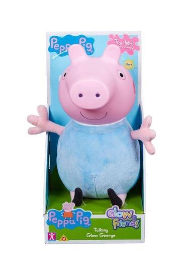 Peppa Pig™ Glow Friends: Talking Glow George Figure