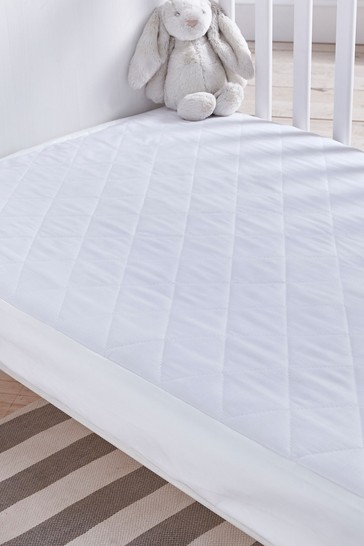 Safe Nights Cot Bed Waterproof Protector by Silentnight