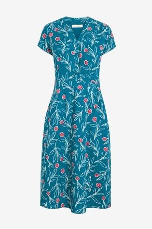 Seasalt Blue Pencil Box Dress
