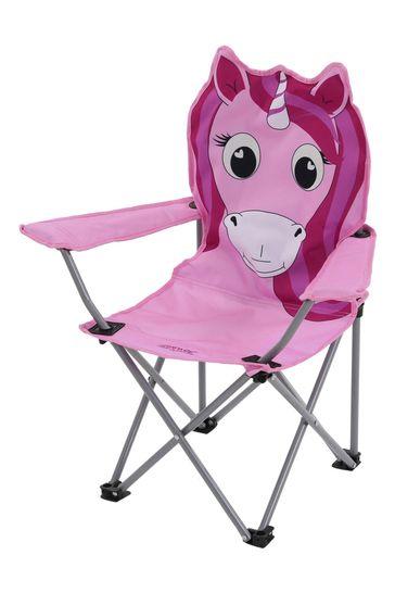 Regatta Blue Animal Kids Folding Chair