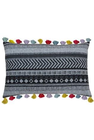 Riva Home Black Peru Cushion