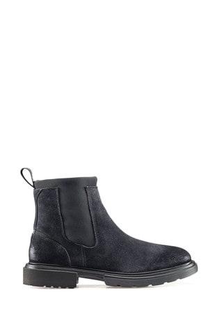 HUGO Blue Dart Chelsea Boots