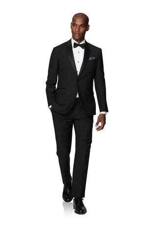 T.M. Lewin Lancewood Black Dinner Slim Fit Jacket
