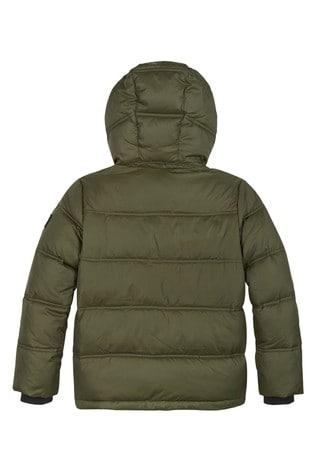 Calvin Klein Green Essential Padded Jacket