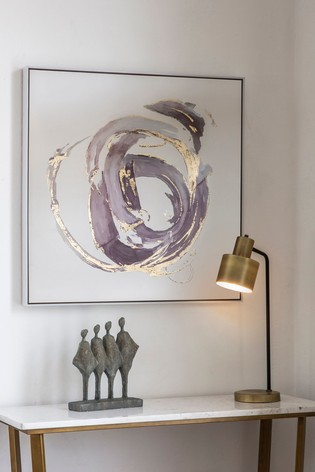 Opal Abstract Framed Art by Gallery Direct