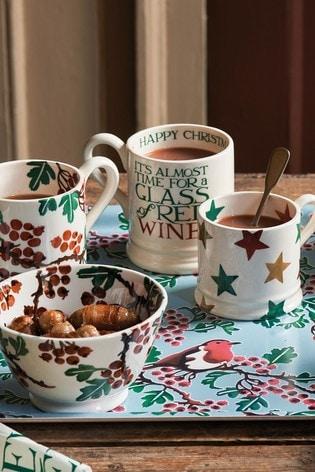 Emma Bridgewater Christmas Toast and Marmalade Thirsty Work Half Pint Mug