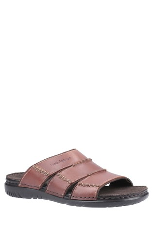 Hush Puppies Brown Cameron Mule Sandals
