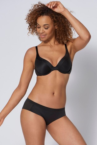 Triumph® Black Body Make-Up Soft Touch Wired Half-Cup Padded Bra