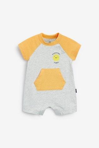 Gap Baby Raglan Short Rompersuit