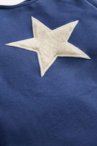 Navy T-Shirt And Leggings Slogan Set (0mths-3yrs)