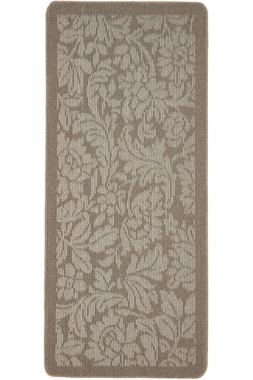 Utility Floral Washable Non Slip Mat by My Mat