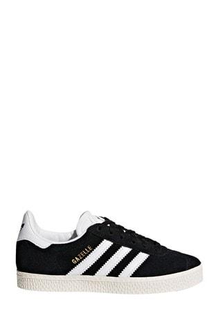 adidas Originals Black Lace Gazelle Trainers