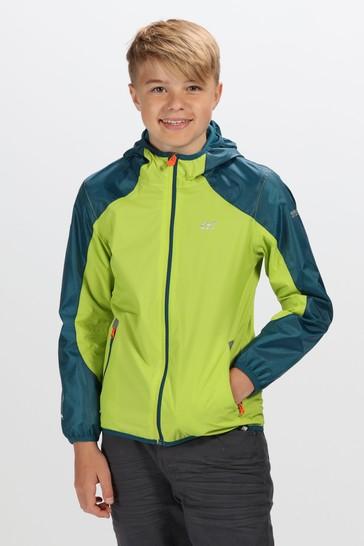 Regatta Green Teega II Water Repellent Jacket