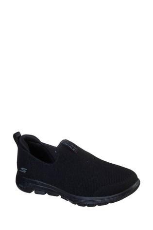 Skechers® Black Go Walk 5 Trainers