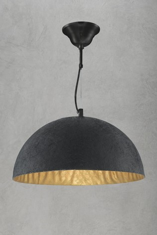 Jimmy 1 Light Dome Pendant by Searchlight