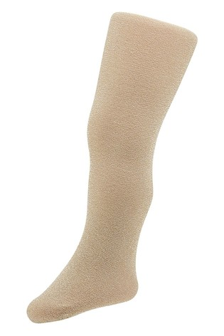 Monsoon Gold Baby Sparkly Nylon Tights
